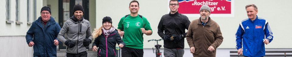 Eine kleine Gruppe Läufer trotzte gestern dem schlechten Wetter und startete vom Vereinsheim des VfA