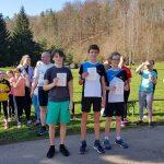 Sieger 2,5km Lauf