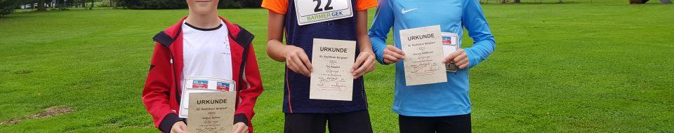 Sieger 3 km